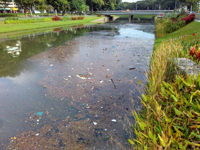 kallang river polluted